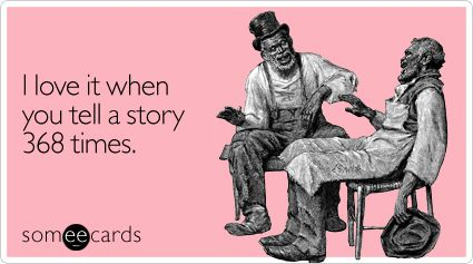 Please tell me the story again.