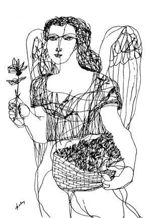 Szalay, Lajos (1909-1995) - Angel