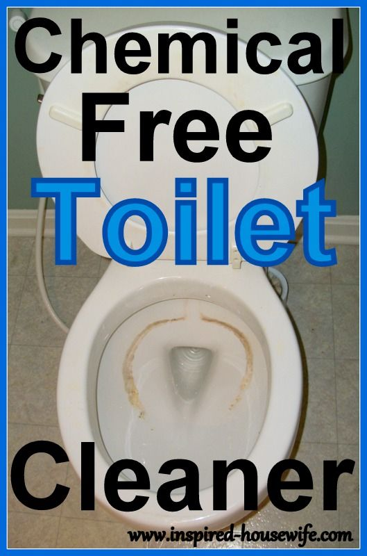 Clean Your Dirty Toilet with Homemade Toilet Bowl Cleaner . . . 1 Cup Baking Soda    1 Cup White Vinegar or a spray bottle designated to hold vinegar all the time    Sprinkle baking soda....spray with vinegar...let it foam and work for 10 min...clean - Tried - Worked!