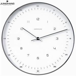 【壁掛け時計時計】JUNGHANS[ユンハンス]/MaxBilldesignWallClock/367604900/ニューヨーク近代美術館永久所蔵品