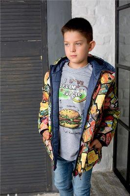 """Куртка дм reversible """"Комиксы"""""""