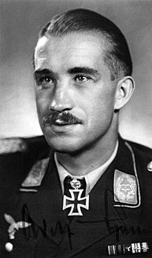 Luftwaffe Lieutenant General  Adolf Galland - Chanda held - JG 26 , JV 44