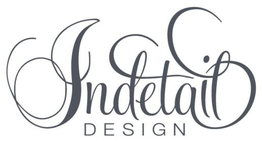 Indetail Design | Identity :: KRUSH DESIGN by Lisa Manson, via Behance