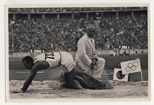 OLYMPIA JESSE OWENS SAUT LONG JUMP USA JEUX OLYMPIQUES 1936 OLYMPIC GAMES