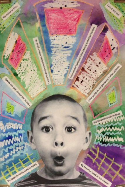 kindergarten self portraits - Google Search                                                                                                                                                                                 More