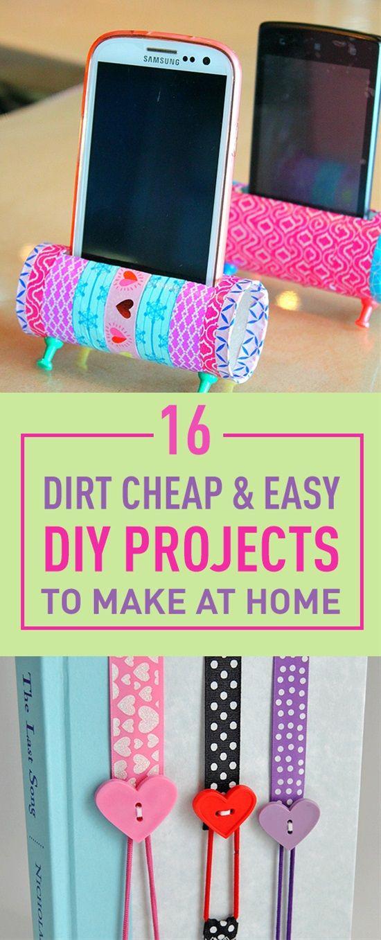 Best 25+ Easy diy projects ideas on Pinterest | Fun diy ...