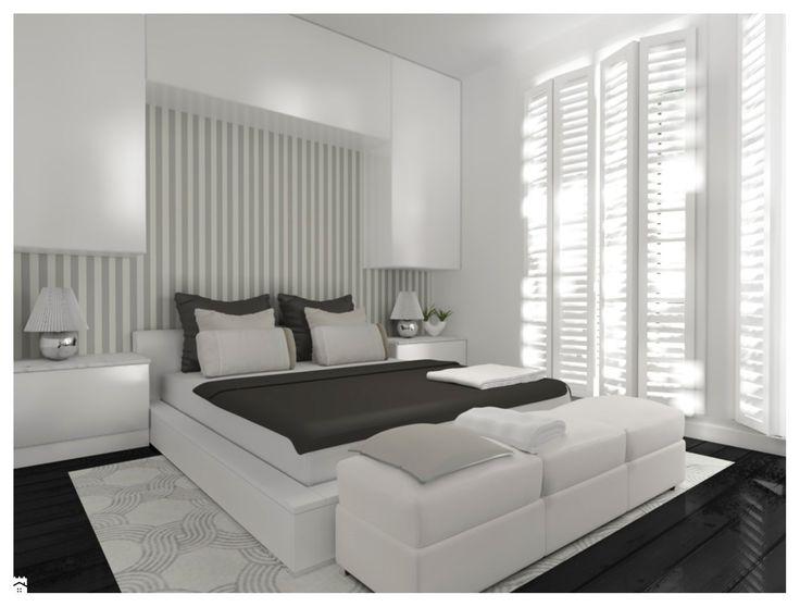 Sypialnia styl Minimalistyczny - zdjęcie od Capricorn Interiors - Sypialnia - Styl Minimalistyczny - Capricorn Interiors