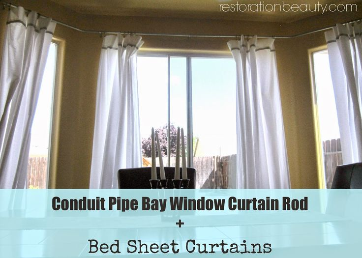 1000 ideas about 3 window curtains on pinterest living room curtains curtain styles and. Black Bedroom Furniture Sets. Home Design Ideas