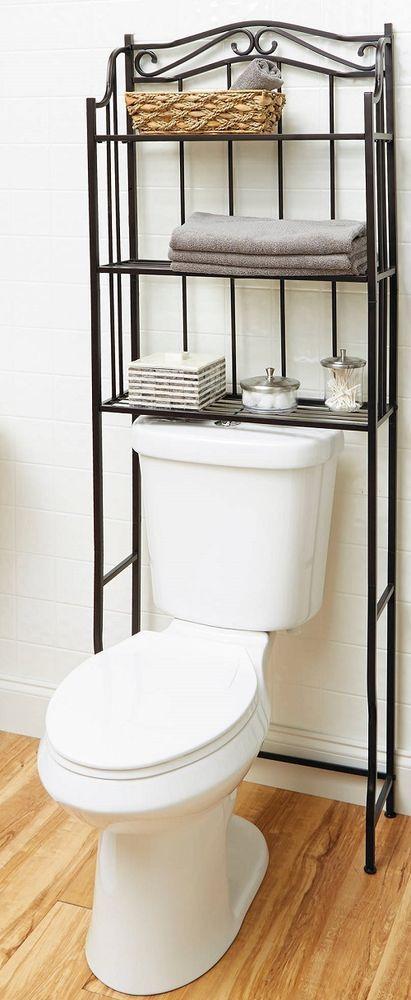 Best 25+ Bathroom storage over toilet ideas on Pinterest ...
