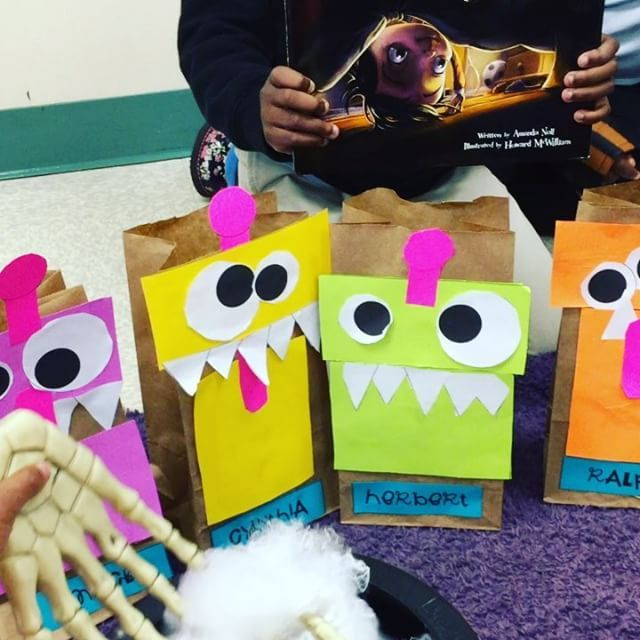 Some spooky Halloween sound effects, my special spicy eyeball soup, skeleton hands, and monster adjectives made for such a fun morning! My kiddos ate this activity up! Thank you so much @stepintosecondgrade for the fabulous idea!