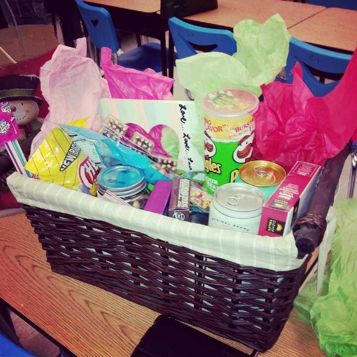 Gift Basket For My Boyfriend.:)