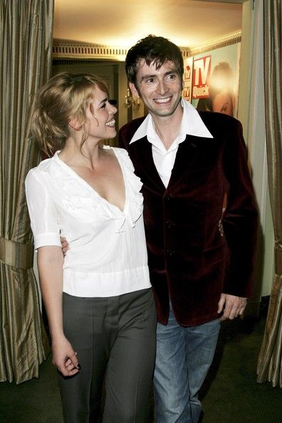 David Tennant Photos - Gala Screening Of The Doctor Who Christmas Episode - Zimbio: 3Rose Thedoctor 3, Actors David, Billie Piper And David Tennant, Doctorwho, The Doctor, Doctor Who, Davidtennant Billiepiper, Rose Billie, David Billie