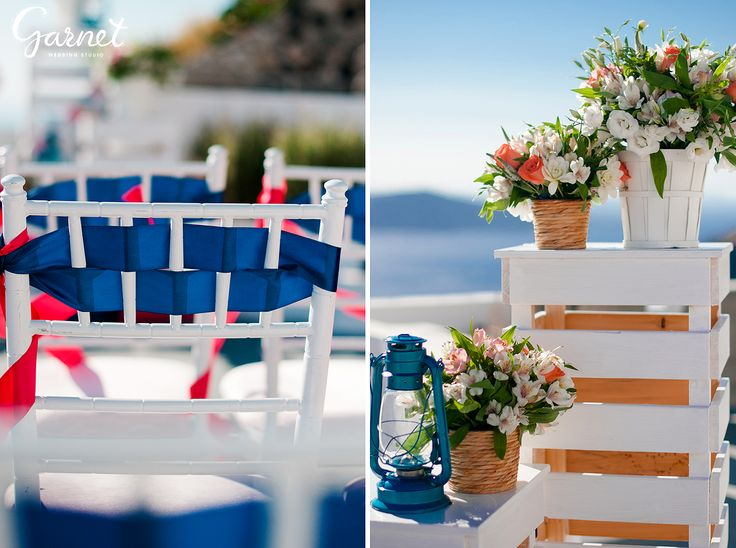 Santorini wedding, wedding planner & decortion: Garnet Wedding Studio