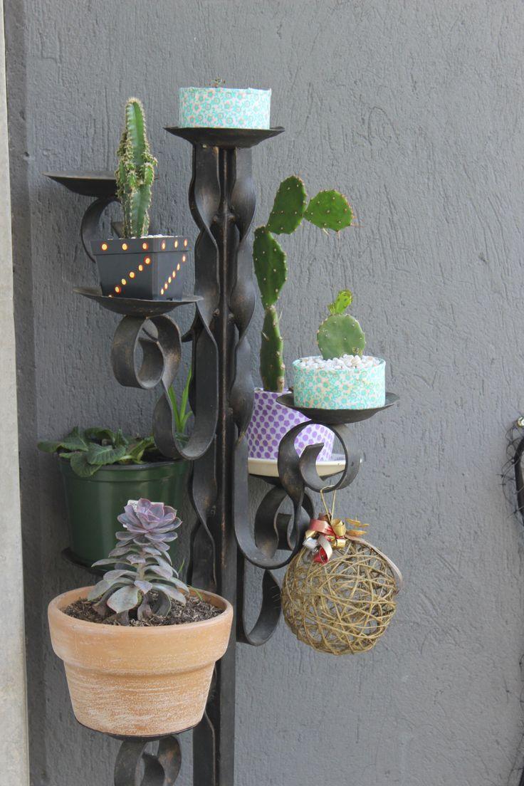 Candelabro de plantas