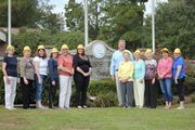 In honor of the 2014 National Friends of the Library Week, held annually in October, the Spanish Fort Public Library volunteers/friends got together for a group photo in front of City Hall.