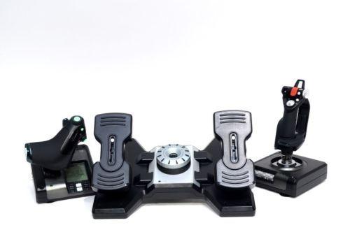 Saitek-X52-Pro-PC-Flight-System-Controller-Pro-Flight-Rudder-Pedals-S10009310