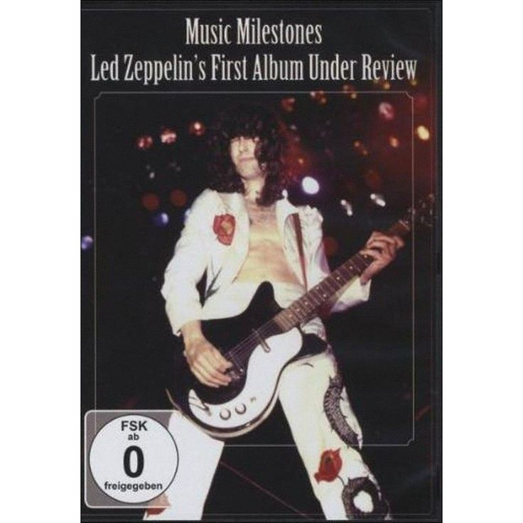 Led Zeppelin: Music Milestones - First Album Under Review (dvd_video)