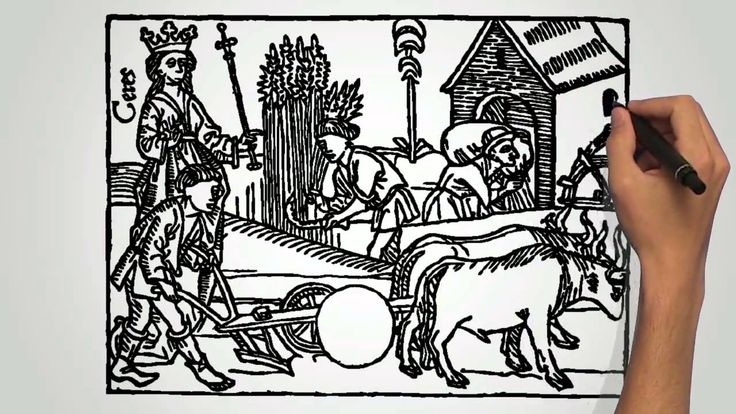 Talonpojan elämää keskiajalla