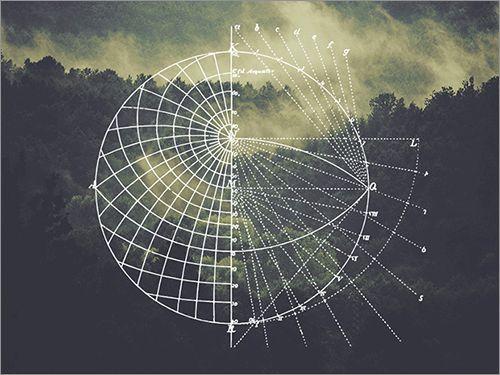天体や地球をイメージした数理地理学の図形にインスパイアされた美しい素材を紹介します。ベクターなので拡大縮小・カラー変更など、きれいに加工できます。 利用にあたっては、Webでもアプリでも動画でも紙でも