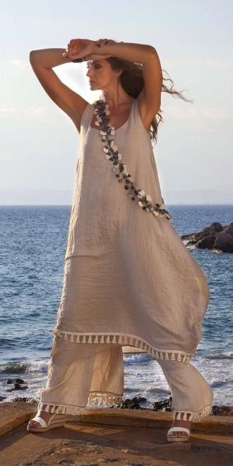 Yiannis Karitsiotis Fringe Trim Balloon Dress