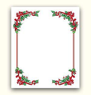 Christmas Ideas: Christmas Border and background - Free Christmas borders