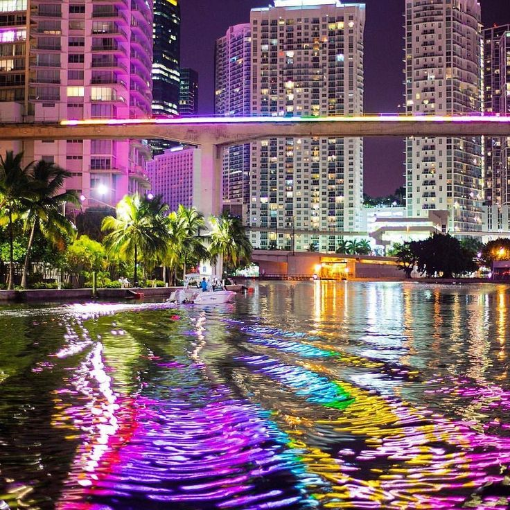 Magical Colors of the Miami River  by @offshoretom #miami #river