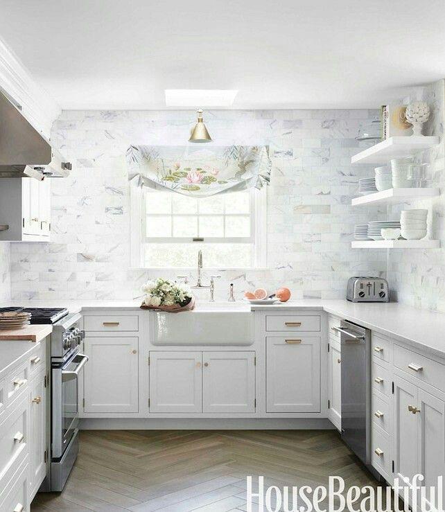 Blue And White U Shaped Kitchen Cabinet: Best 25+ U Shaped Kitchen Ideas On Pinterest