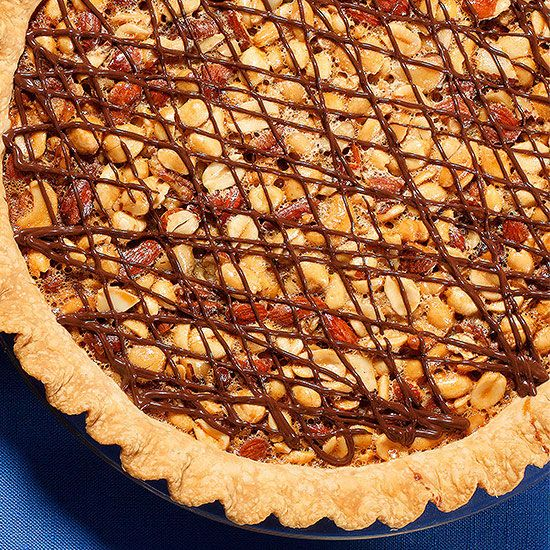 Mixed-Nut Turtle Pie