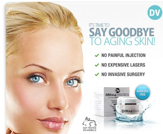 Anti Aging Cream Advertisement For The Best Anti Aging