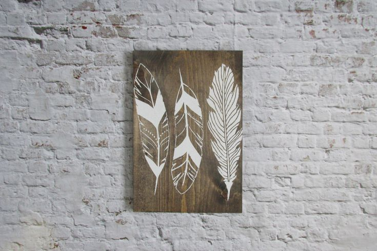 Rustic Feather Sign. Wood signs. Wooden signs. Rustic decor. Boho decor. Feather art. Farmhouse decor. Rustic signs. Home Decor. Wall Decor. by WilliamRaeDesigns on Etsy https://www.etsy.com/listing/244151132/rustic-feather-sign-wood-signs-wooden