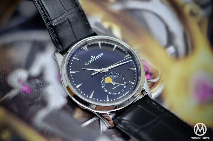 Jaeger-Lecoultre Master Ultra Thin Moon 39 black dial SIHH 2015 - 2
