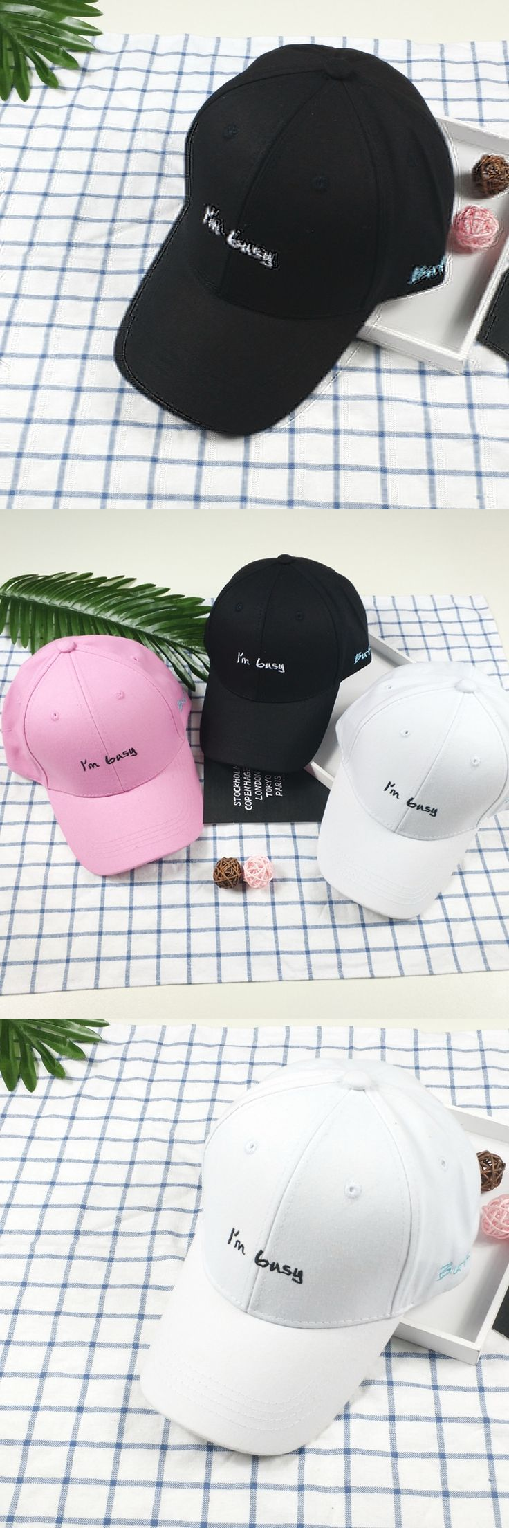 2017 Brand New Letter Embroidery Men and Women Baseball Cap Adjustable Curved Eaves Couple Sun Hat Sports Leisure Hip Hop Hat