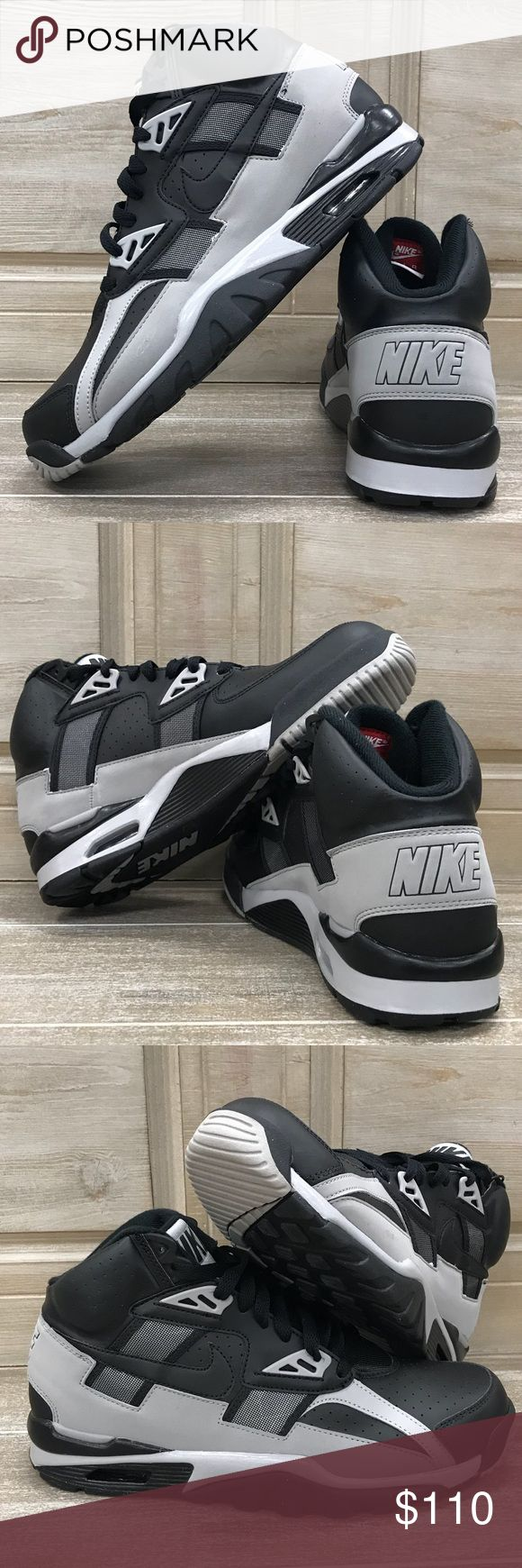 Bo Jackson Shoes BRAND NEW!!! Black and gray Bo Jackson sneakers. Men's size 8.5. Super classic shoe. No box. Great deal!!! Nike Shoes Sneakers