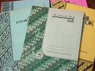 Koleksi Era 80-an: Buku Tulis Tempo Doeloe