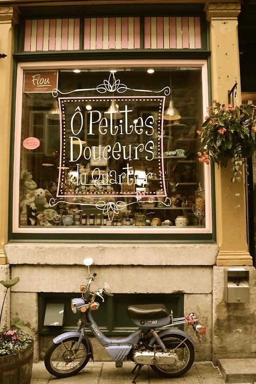 Bike in Old Quebec City