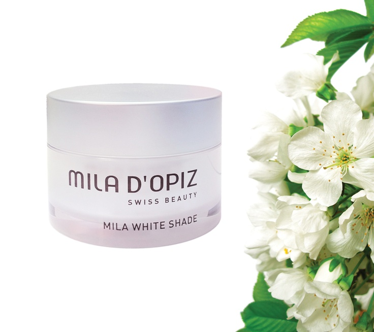 Mila d'Opiz Australia - White Shade Vision Day & Night Cream. Nourising & Moisturising. Optimal skin-brightening care, helps to reduce age spots & pigmentation disorders.