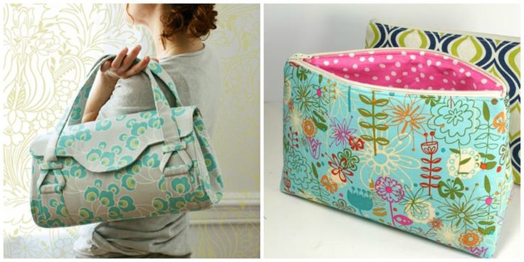 Your Purse Pattern Tutorial: 77 Free Bag Sewing Patterns | AllFreeSewing.com
