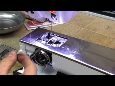 Bernina 830 / 880 Bobbin Error and Bobbin Sensor Cleaning - YouTube