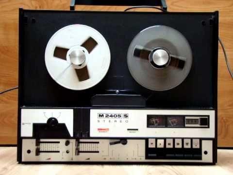 Nagranie stereofoniczne na taśmie Stilon, przy prędkości 19,05cm/s. Gdyby nie wbudowane głośniki, magnetofon kwalifikuje się do klasy Hi-Fi 🙂 Film nie ma na …