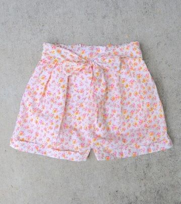 DIY Pleated Shorts, apparently  now pattern, just instructions using waist measurement. For Georgia  and Pyper