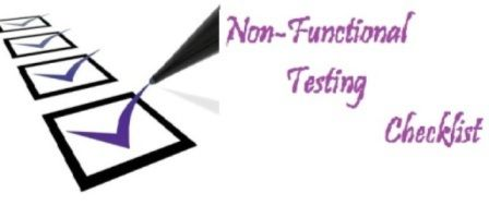 Non-functional testing involves multiple testing activities for each different perspective. Explore the checklist of activities@http://www.professionalqa.com/non-functional-testing-checklist
