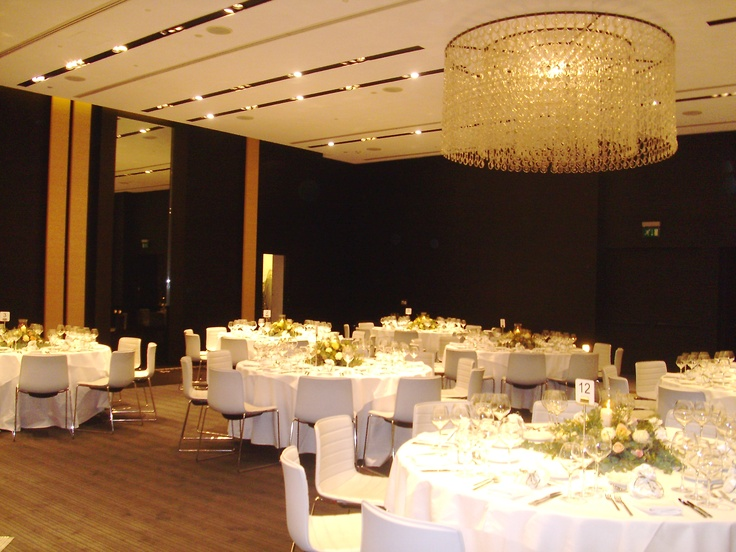Moustakas flowers-wedding arrangement with roses-The Met Hotel #weddingdecor #roses #winterwedding