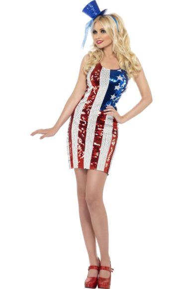 American Flag Dress | Jokers Masquerade