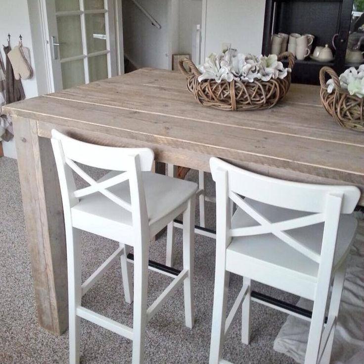 Steigerhouten bartafel verkrijgbaar via www.winlou.nl
