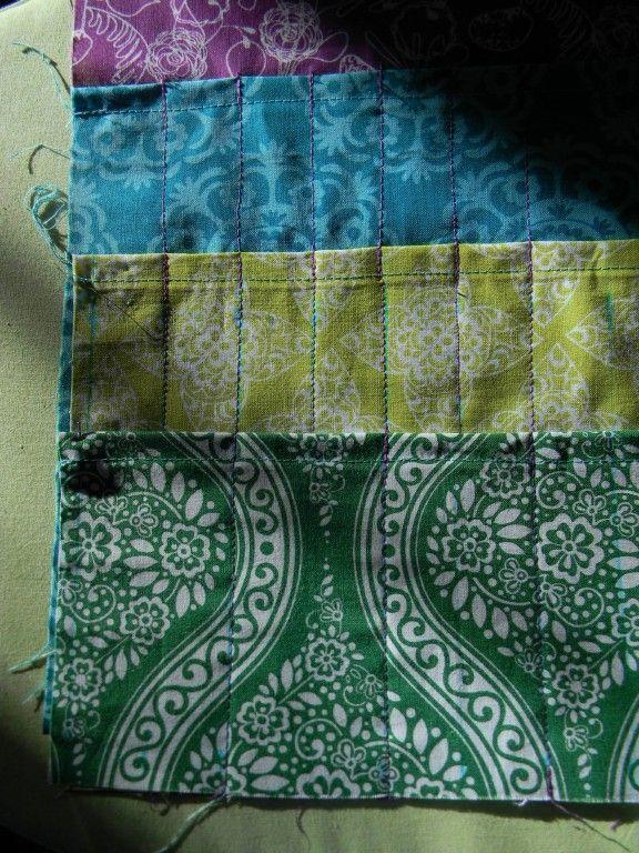 Nesting Sticks: Knitting Needle & Crochet Hook Roll-Up {Tutorial}