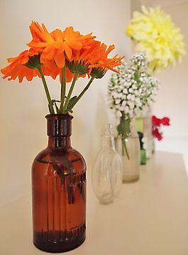 Bottled Fragrance by Deb Maidment at Nature Versus Photography #vintage #flower