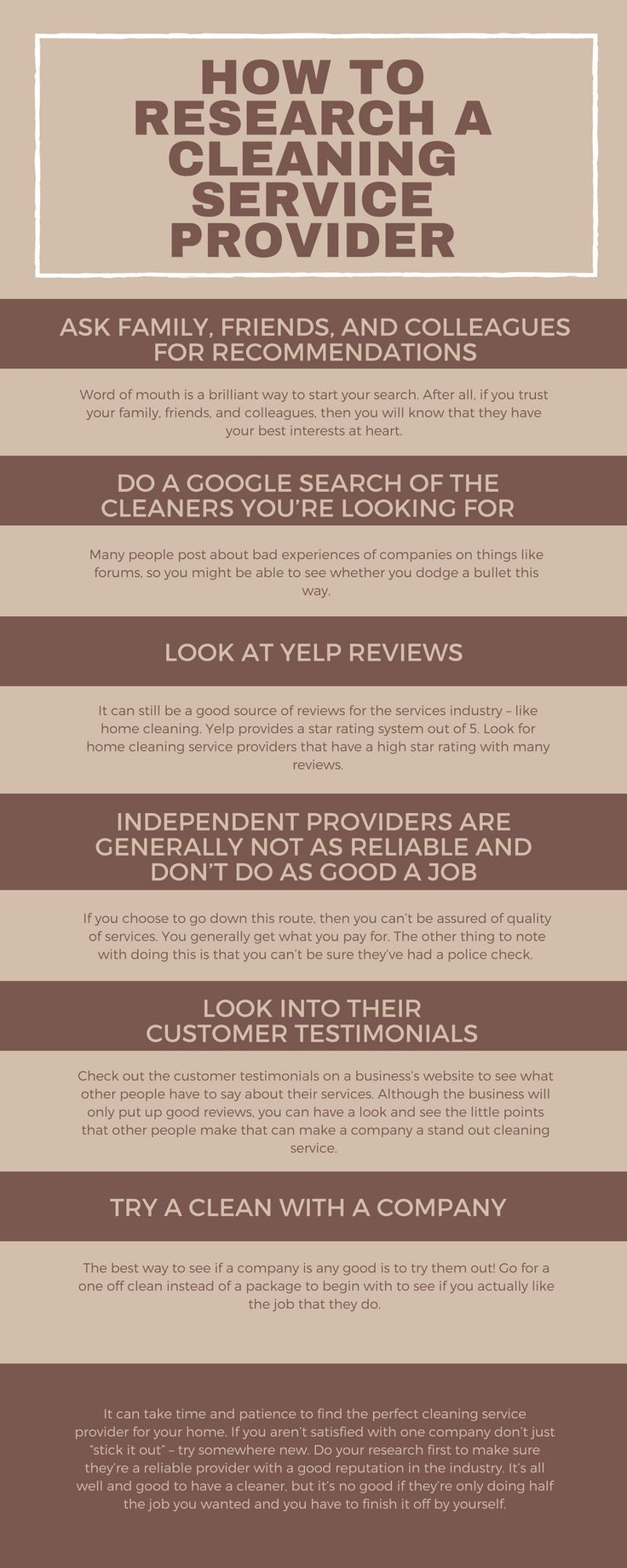 There are various ways to find out #cleaning #service company in your local areas. Look at this info-graphic and know how to find the cleaning services.
