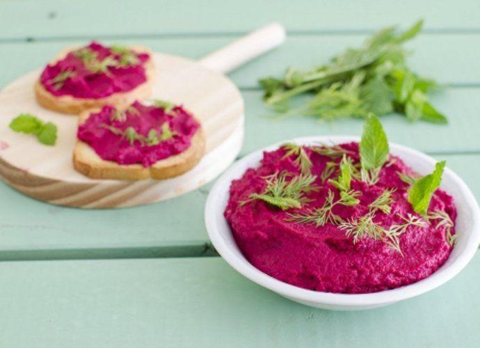 Hummus de remolacha para #Mycook http://www.mycook.es/cocina/receta/hummus-de-remolacha