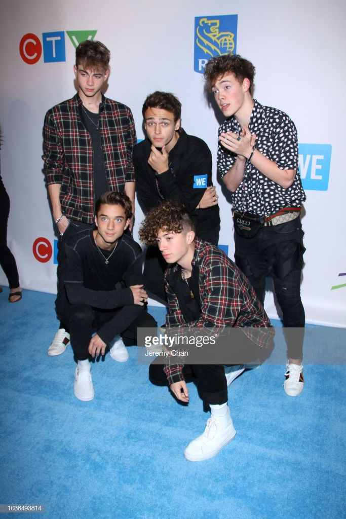 We Day Toronto And We Carpet Arrivals Zach Herron Why Dont We