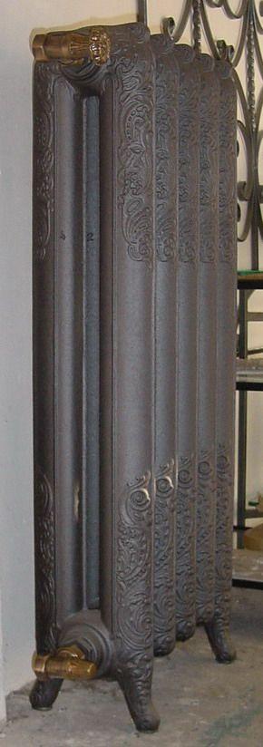 Radiatori Termosifoni Caloriferi Liberty artistici in fusione di ghisa,old style radiators cast iron, epoca, roca